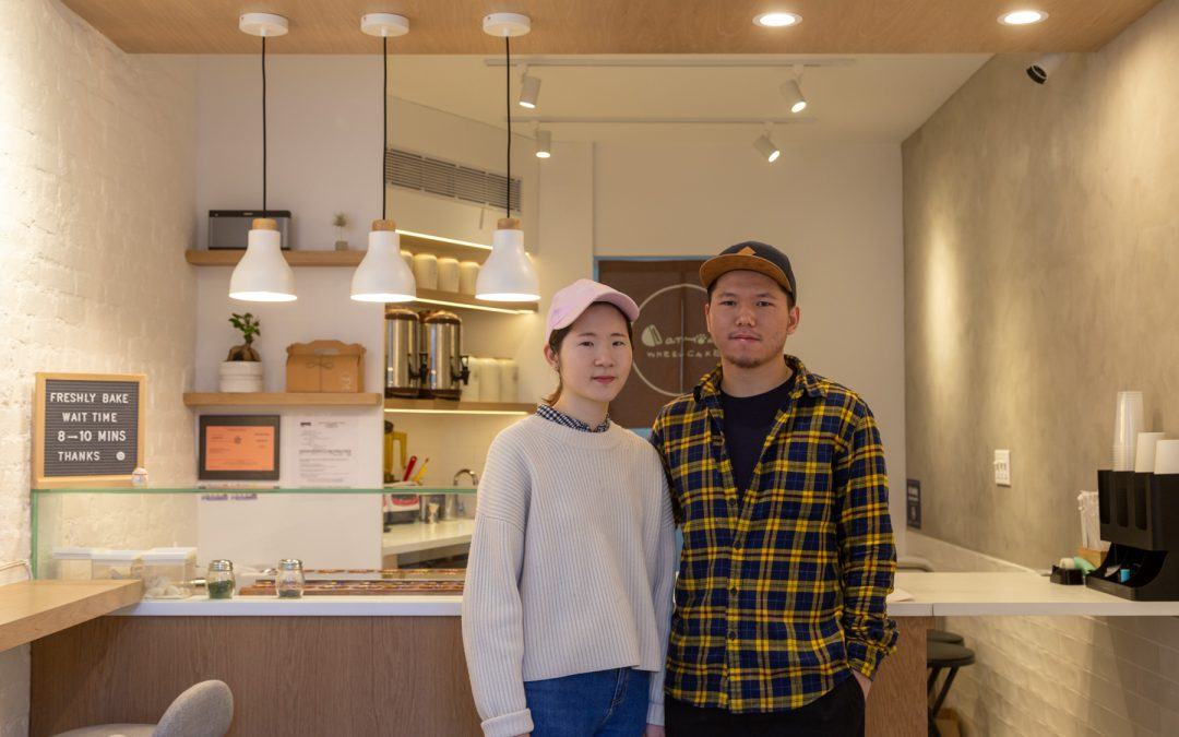 Elevating a Taiwanese street food favorite at Catmint Wheelcake