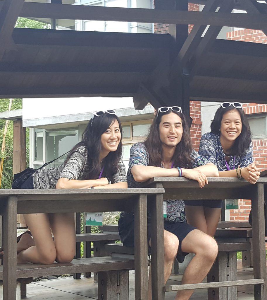 Jen, Ben, and Julie in Taiwan!