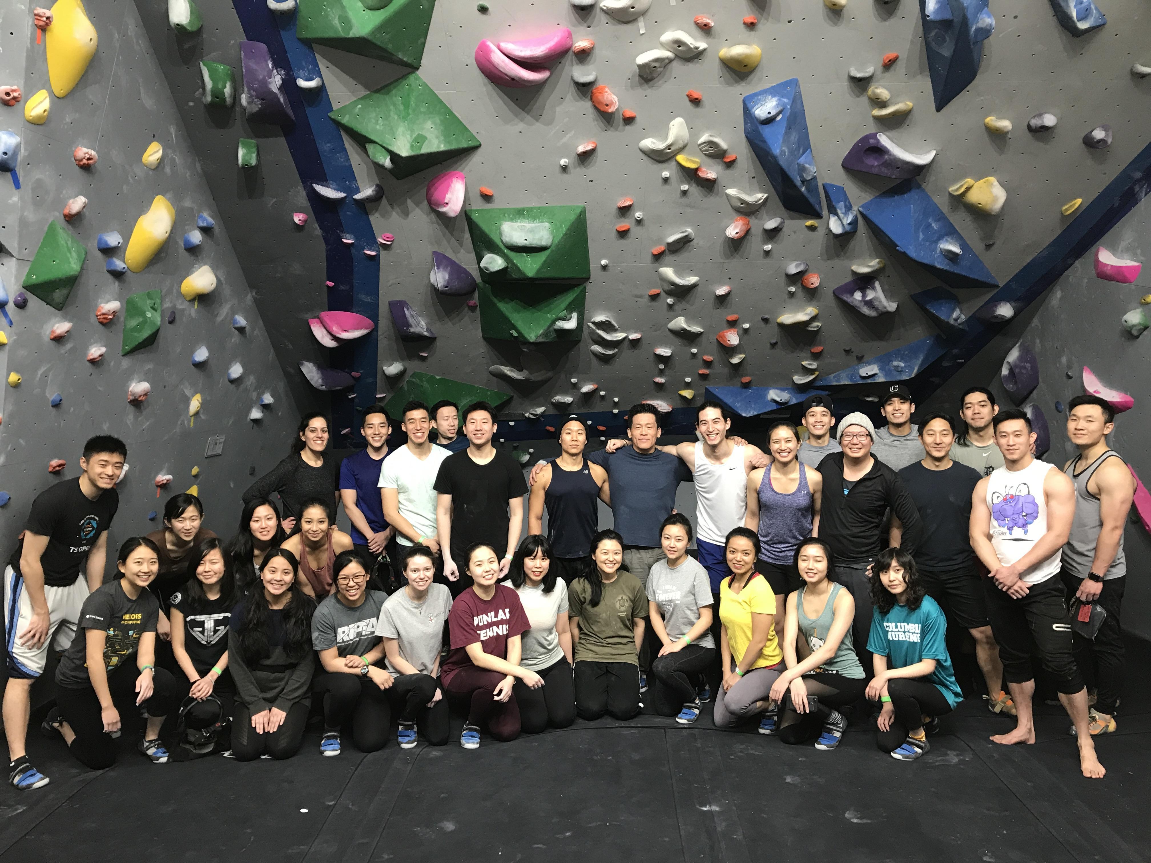 TAP-NY Rock Climbing
