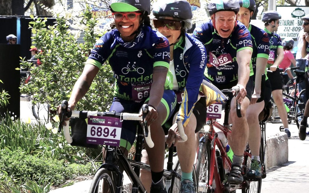Join the 2019 InTandem Five Boro Bike Tour Team!