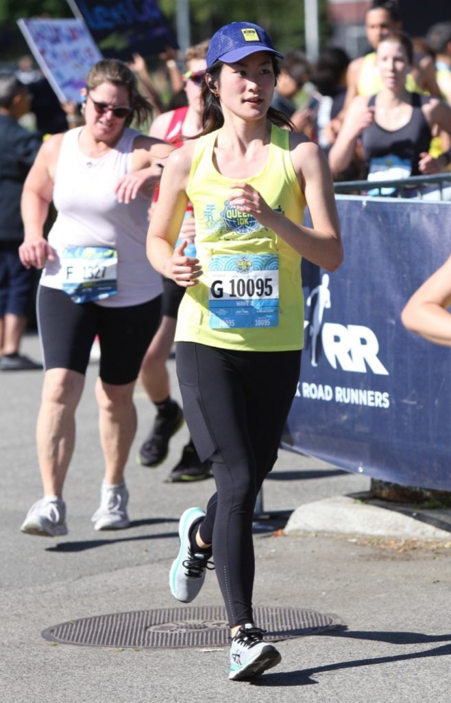 Martha running