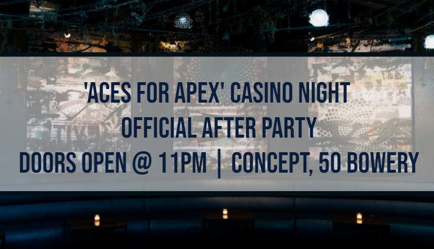Apex for Youth Casino Night After Party