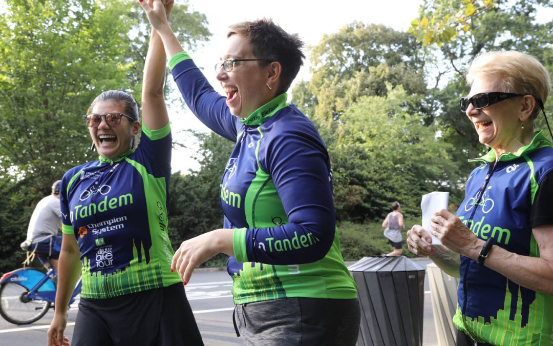 Join the 2020 InTandem Five Boro Bike Tour Team!