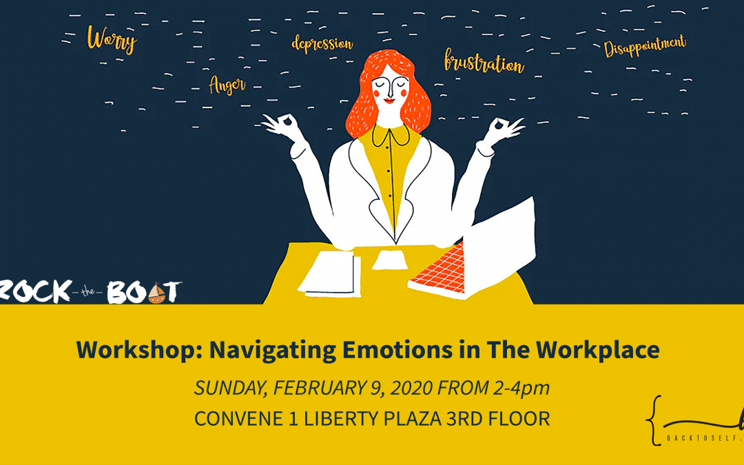 Rock the Boat Journaling Workshop: Navigating Emotions in The Workplace