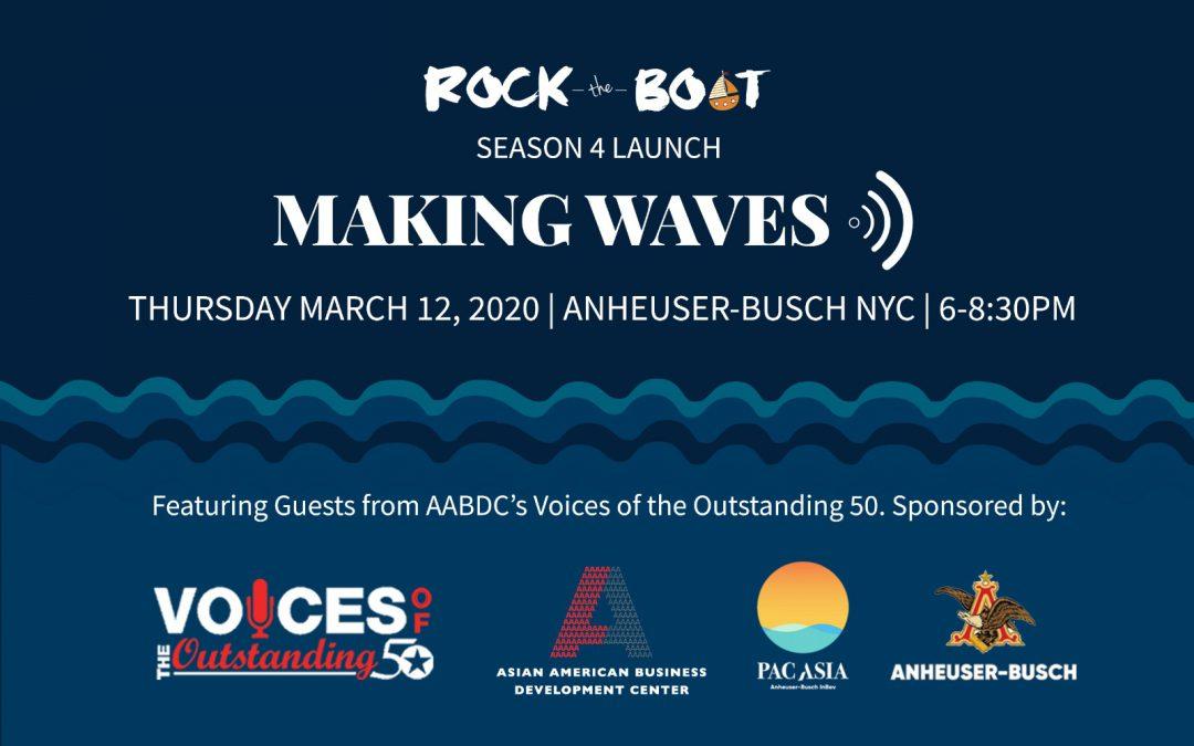 Rock The Boat Season 4 Launch: Making Waves