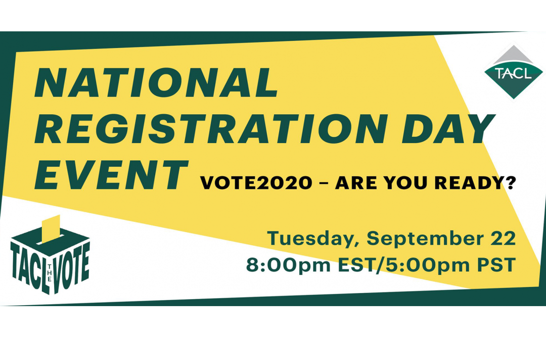 National Voter Registration Day Discussion