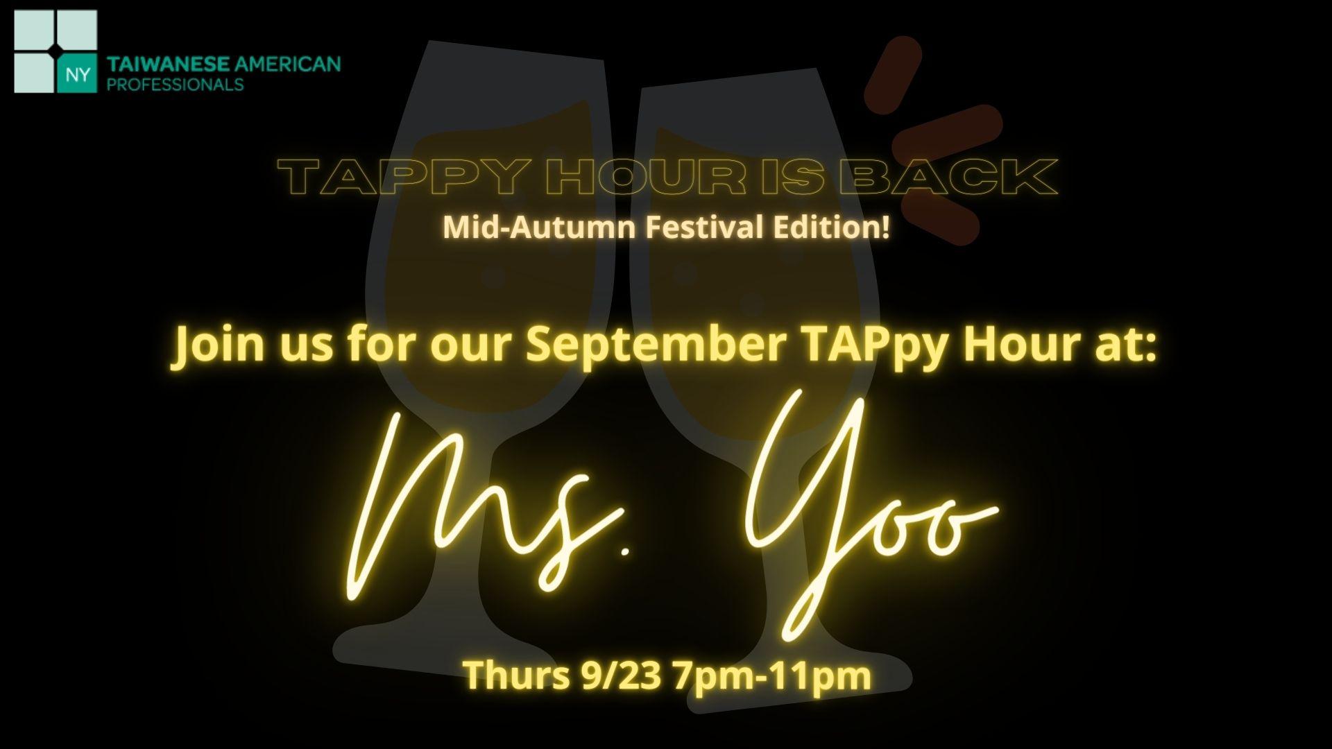 September TAPpy Hour 2021